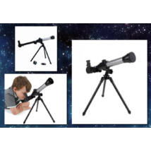Csillagászati teleszkóp gyermekeknek 3 féle cserélhető lencsével és állvánnyal