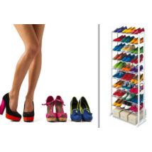 30 férőhelyes cipőtartó állvány