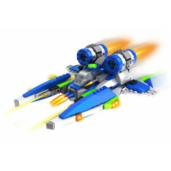 Űrhajó építőkocka játék