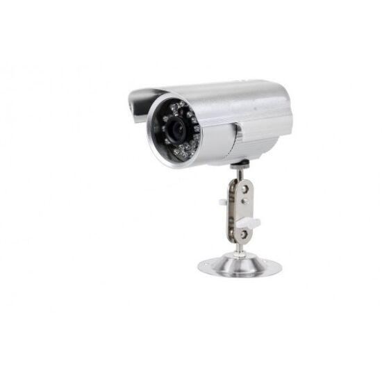 Non-stop megfigyelő kamera éjjellátó funkcióval, fém házban