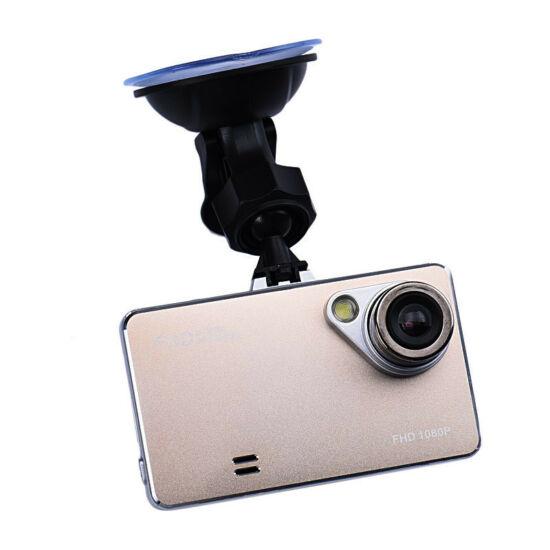 Kompakt HD autós kamera (ARANY)