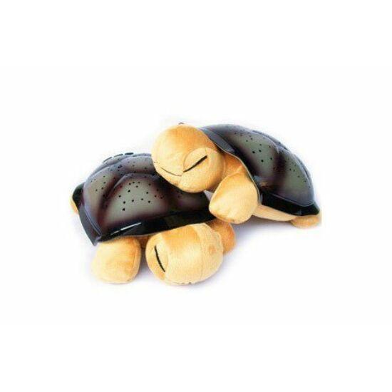 Világító teknős (BARNA)