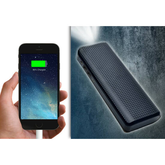 Powerbank Black (20.000 mAh)