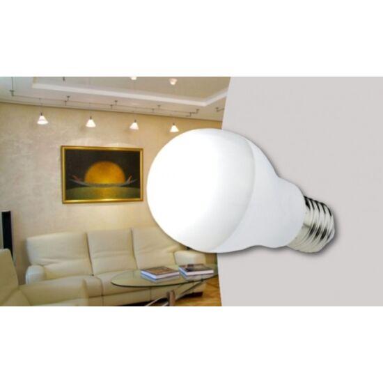 16W-os LED fényforrás E27-es foglalattal hideg fehér színben