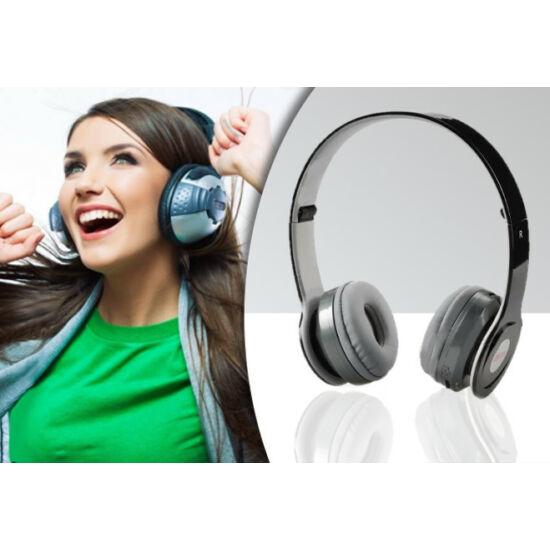 SoundFriend Bluetooth fejhallgató (Fekete)