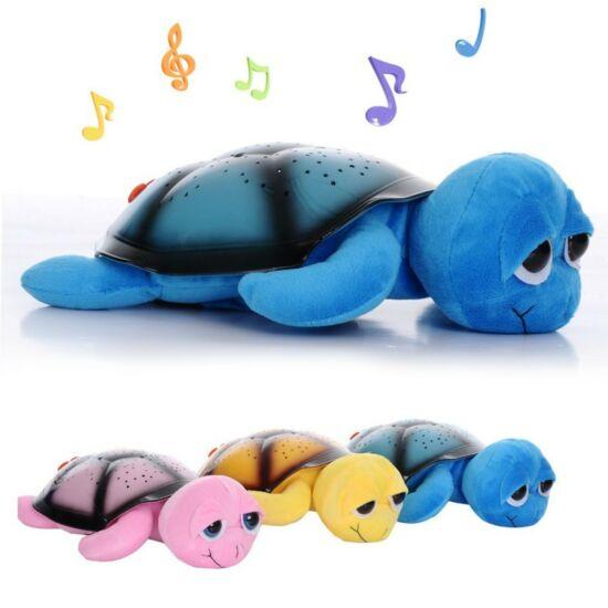 Bociszemű világító teknős kék színben