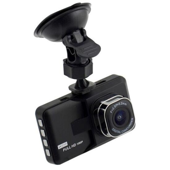 Vehicle Blackbox DVR autós kamera extra méretű LCD kijelzővel
