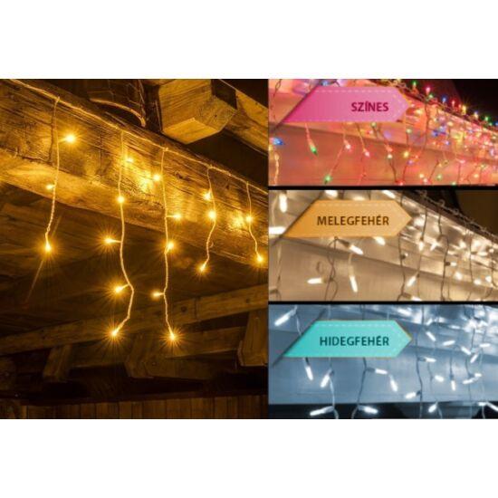 500 LED-es jégcsap fényfüzér (hidegfehér)