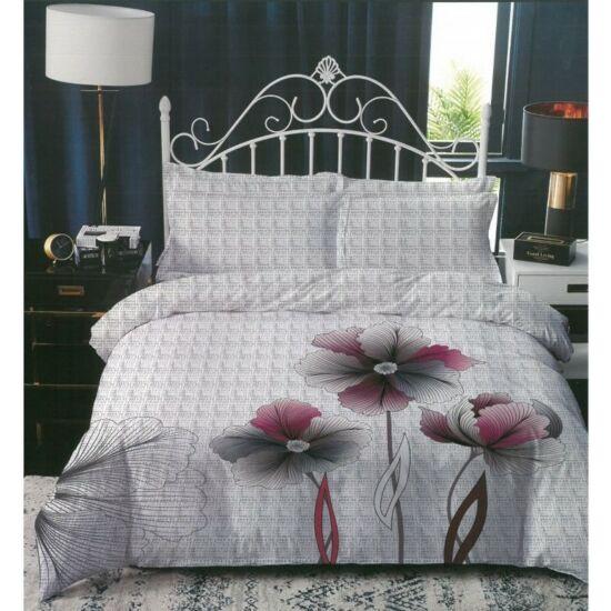 Sendia 3 részes ágynemű virág mintával (Fehér)