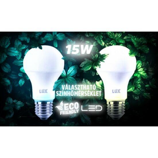 15W-os erős fényű, energiatakarékos LED izzó (10 darabos csomag, E27, hideg fehér)
