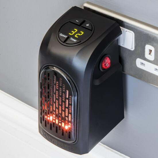 Compact Heater hordozható hősugárzó