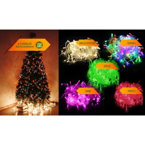 300 LED karácsonyi izzósor (hidegfehér)