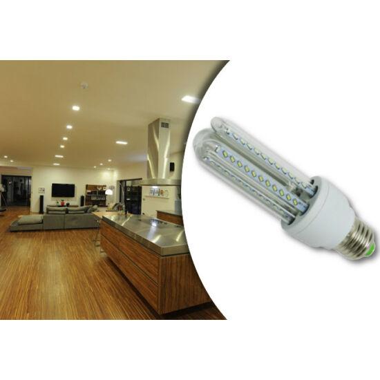24W-os prémium LED fényforrás (10 darabos csomag, U-alakú, E27, Meleg fehér)