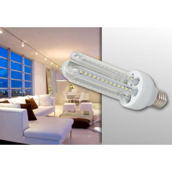 9W-os U alakú LED fényforrás (E27) (Meleg fehér)