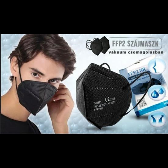 FFP2 / KN95 fekete szájmaszk