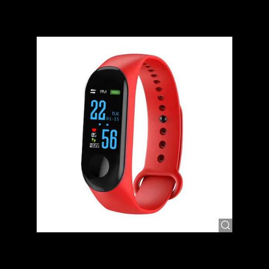Smart Bracelet Unleash Your Run okoskarkötő (Piros)