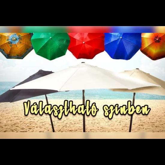 Összecsukható napernyő (1,8m, Kék)