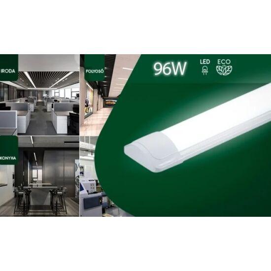 120cm 96W mennyezeti led fénycső