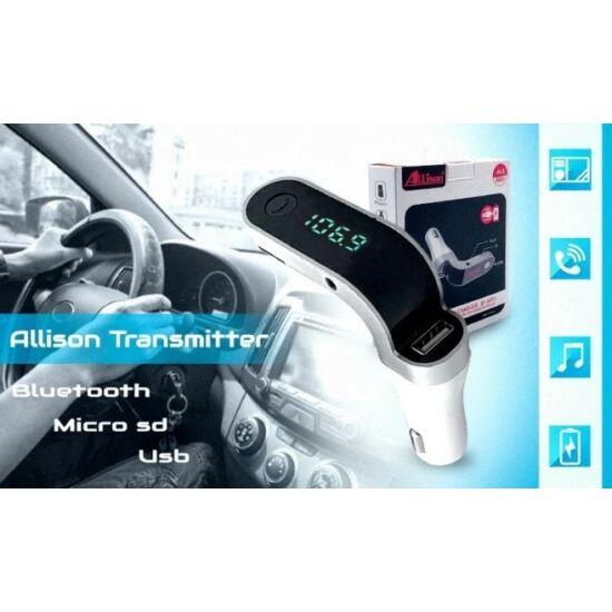 Allison A807 autós multiplayer FM transzmitter