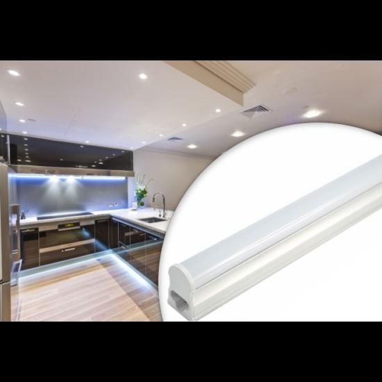 60 cm-es 9 W-os LED fénycső armatúrával (Hideg fehér)