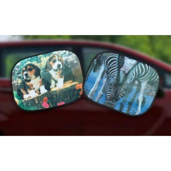 Autós napvédő (Zebra)