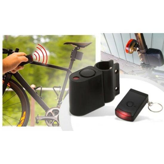 Bicikliriasztó távirányítóval és szirénával