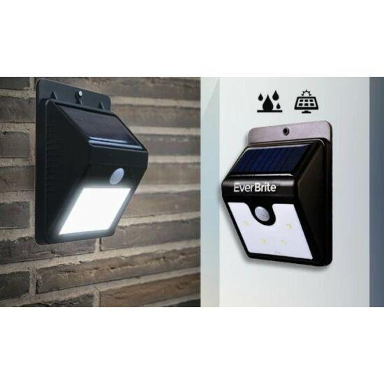Napelemes fali lámpa mozgásérzékelővel