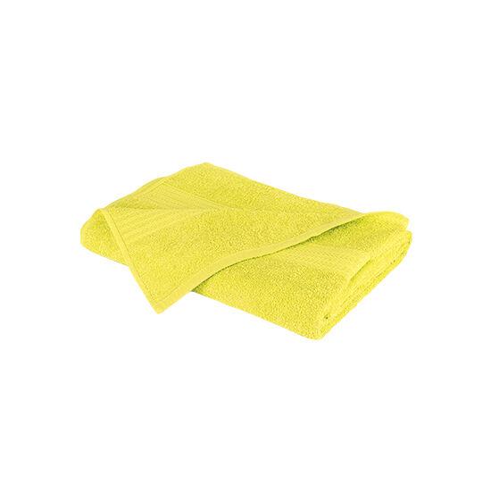 Óriás fürdőlepedő (90x180 cm, citrom)