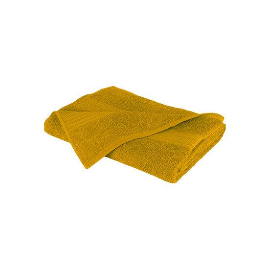 Óriás fürdőlepedő (90x180 cm, mustársárga)