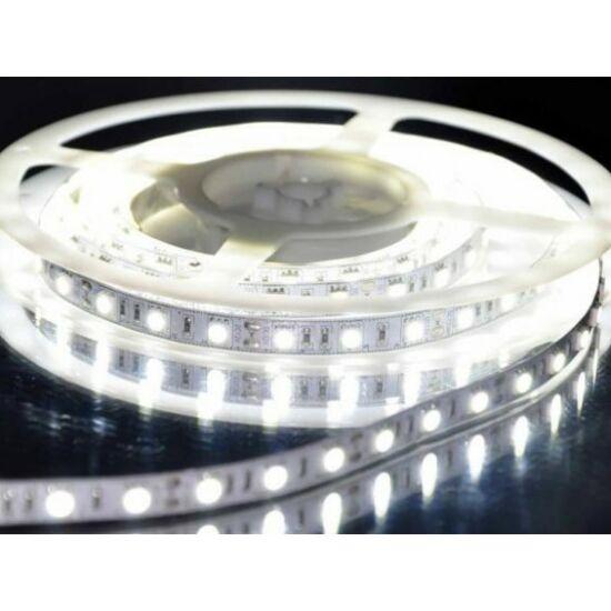 5 méteres vízálló LED Szalag (HIDEGFEHÉR)