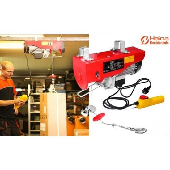 Haina Elektromos Drótköteles csörlő 250kg / 500kg 2500W HB6742