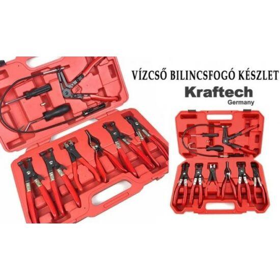 KrafTech vízcső bilincsfogó készlet (9 részes)