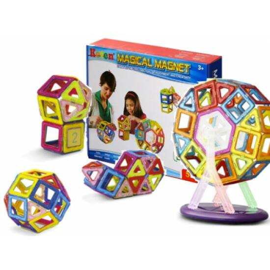 Magical Magnet készségfejlesztő építőjáték