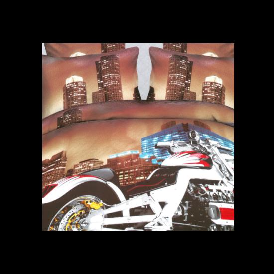 7 részes 3D ágyneműhuzat garnitúra (Motor)