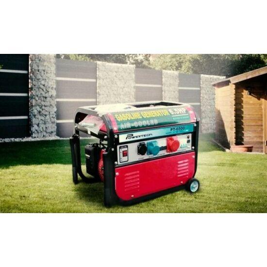 Powertech generátor (6500W)