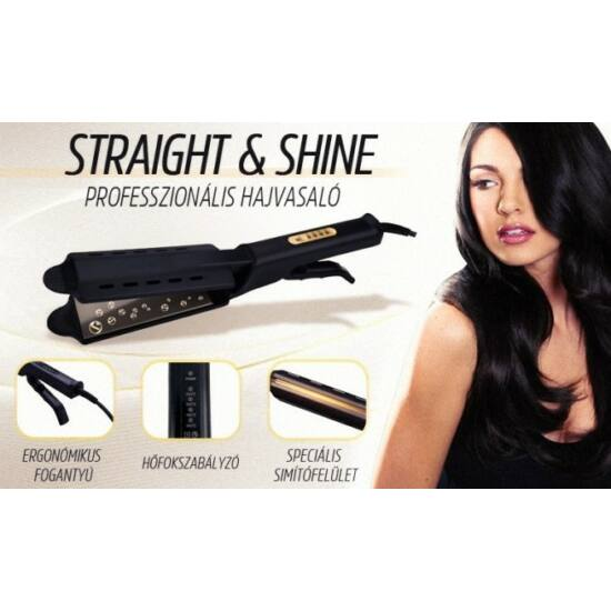 Straight & Shine Professzionális hajvasaló